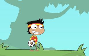 Poptropica soccer player