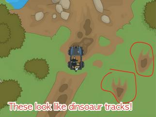 Poptropica Dinosaur Tracks
