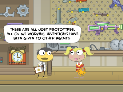 Cool Spy tools in Poptropica Spy Island
