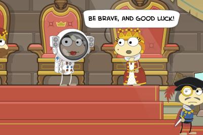Queen in Astro-Knights
