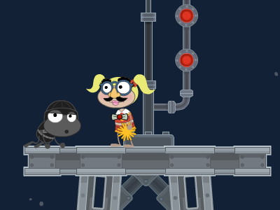 Poptropica Spy Island Radio Tower