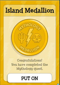 Poptropica Mythology Medallion