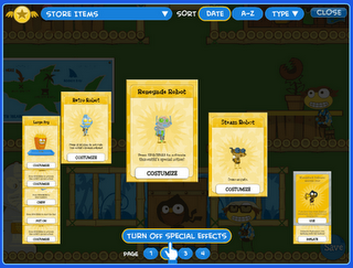 Turn Poptropica Special Effects Off