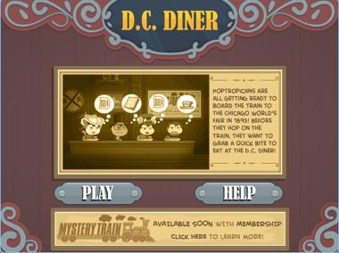 DC Diner in Poptropica