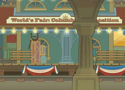 The World's Fair in Mystery Train Island