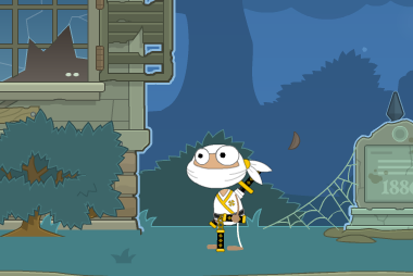 Poptropica Light Ninja Costume