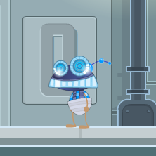 Money Ladder Robot in Poptropica