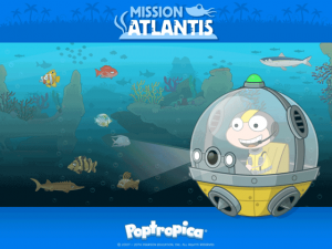 Poptropica Mission Atlantis Wallpaper